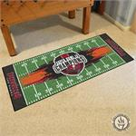 Tampa Bay Buccaneers Super Bowl LV Champions Football Field Runner Mat
