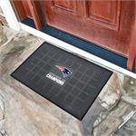New England Patriots Super Bowl LIII Champions Medallion Door Mat