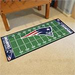 New England Patriots Super Bowl LIII Champions Football Field Runner Mat