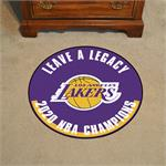 Los Angeles Lakers 2020 NBA Finals Champions Basketball Mat
