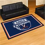Virginia Cavaliers 2019 NCAA Men's Basketball National Champions 5'x8' Plush Area Rug
