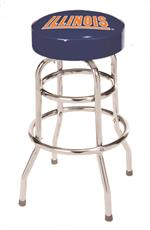 Illinois Fighting Illini Bar Stool