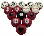 Indiana Hoosiers Numbered Pool Balls