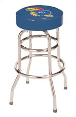 Kansas Jayhawks Bar Stool
