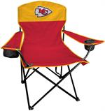 Kansas City Chiefs Lineman Tailgate Chair - Front View