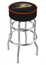 Anaheim Ducks Double Ring Swivel Bar Stool