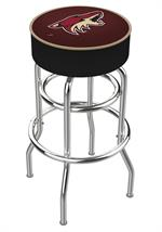 Arizona Coyotes Double Ring Swivel Bar Stool