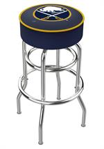 Buffalo Sabres Double Ring Swivel Bar Stool