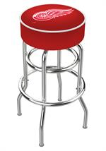 Detroit Red Wings Double Ring Swivel Bar Stool