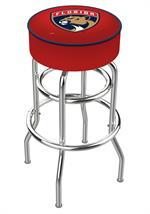 Florida Panthers Double Ring Swivel Bar Stool