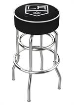 Los Angeles Kings Double Ring Swivel Bar Stool