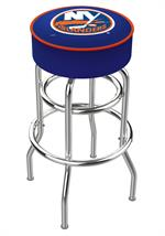 New York Islanders Double Ring Swivel Bar Stool