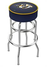 Nashville Predators Double Ring Swivel Bar Stool