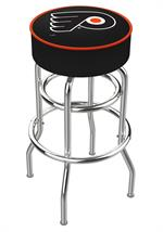 Philadelphia Flyers Double Ring Swivel Bar Stool