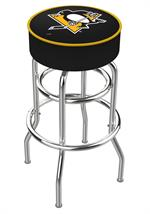 Pittsburgh Penguins Double Ring Swivel Bar Stool