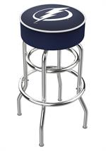 Tampa Bay Lightning Double Ring Swivel Bar Stool