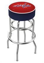 Washington Capitals Double Ring Swivel Bar Stool