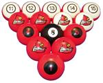 Louisville Cardinals Numbered Pool Balls