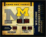 Michigan Wolverines Bluetooth Scoreboard Clock