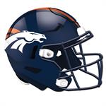 Denver Broncos 24 Inch Authentic Wall Helmet