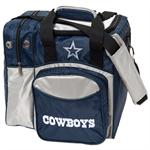 Dallas Cowboys Single Bowling Ball Bag