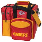 Kansas City Chiefs Single Bowling Ball Bag