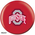 Ohio State Buckeyes Bowling Ball Front View