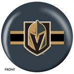 Vegas Golden Knights Bowling Ball Front View