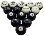 Penn State Nittany Lions Numbered Pool Balls