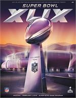 Official Super Bowl XLIX Program, Holographic Stadium Version