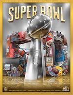 Official Super Bowl 50 Stadium Program - Holographic Version