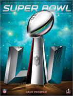 2017 - Official Super Bowl LI Program Stadium/Holographic Version