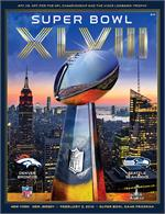 Official Super Bowl XLVIII Program, Non Holographic National Version