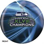 Seattle Seahawks Super Bowl XLVIII Champions Bowling Ball