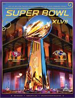 Official Super Bowl XLVII Program (49ers vs Ravens)