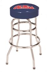 Mississippi Rebels Ole Miss Bar Stool