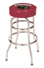 Montana Grizzlies Bar Stool