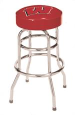 Wisconsin Badgers Bar Stool
