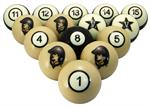 Vanderbilt Commodores Numbered Pool Balls