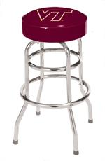 Virginia Tech Hokies Bar Stool